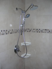 Mill Creek Natural Stone & Tile Shower Installation
